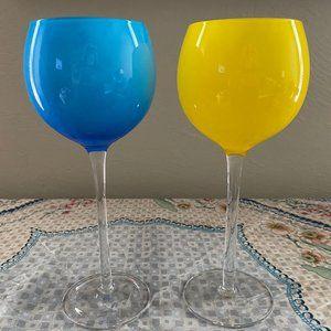 Red Wine Glasses from Santa Fe (Set of 2)